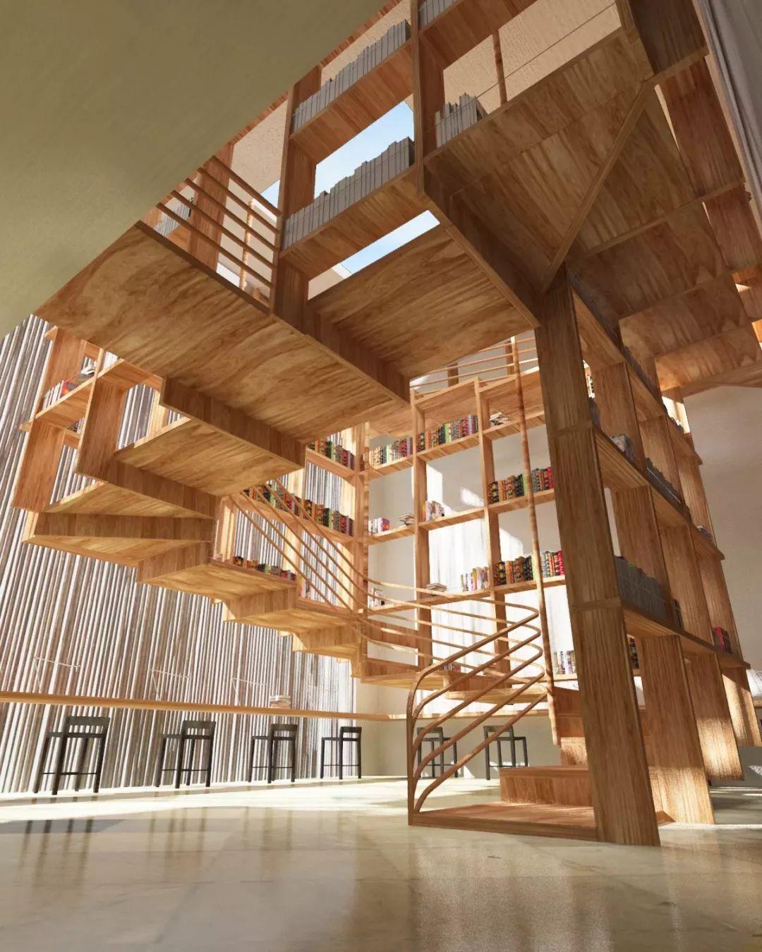 储物楼梯设计案例