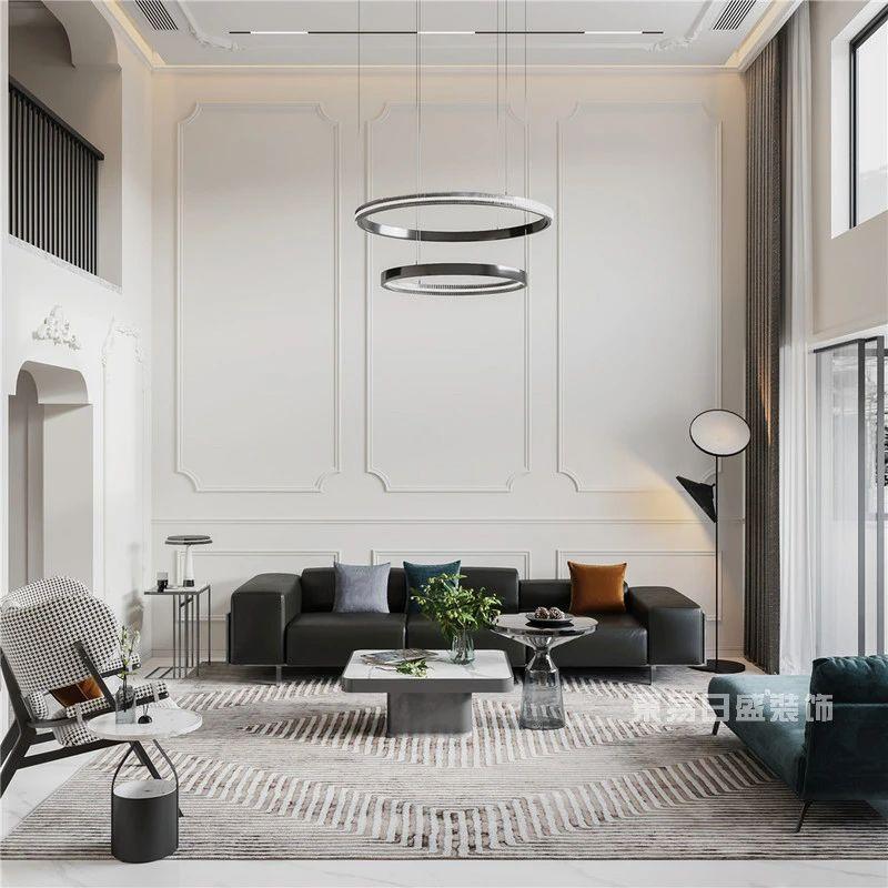 现代法式风格客厅