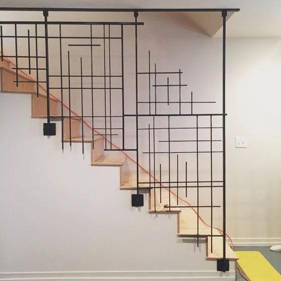 线条楼梯设计
