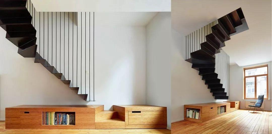 极简线条楼梯