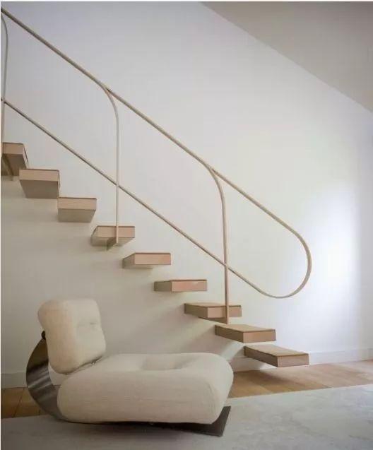 极简线条楼梯装饰