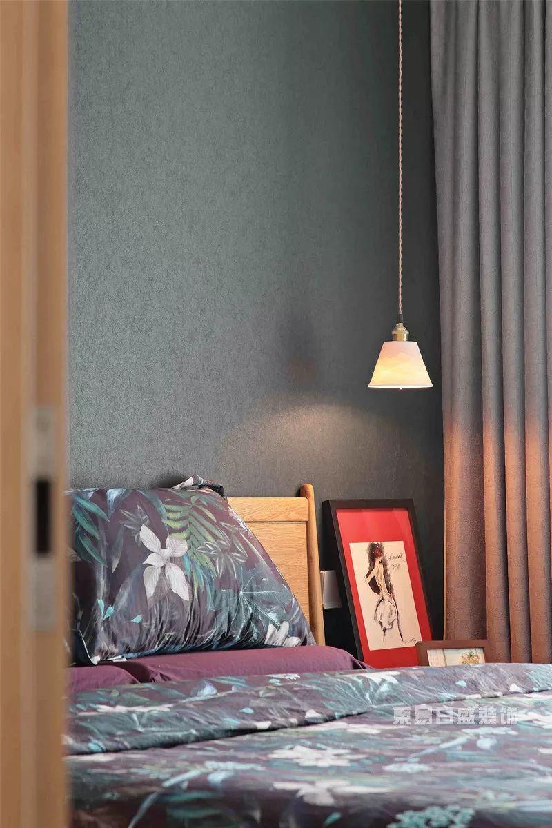 现代风格案例主卧室