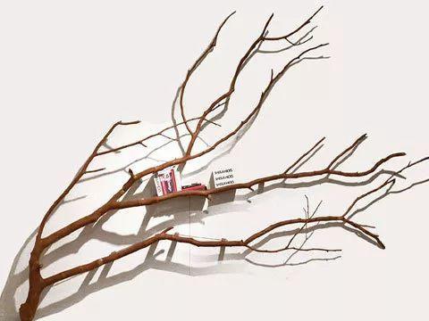 创意树枝型书架