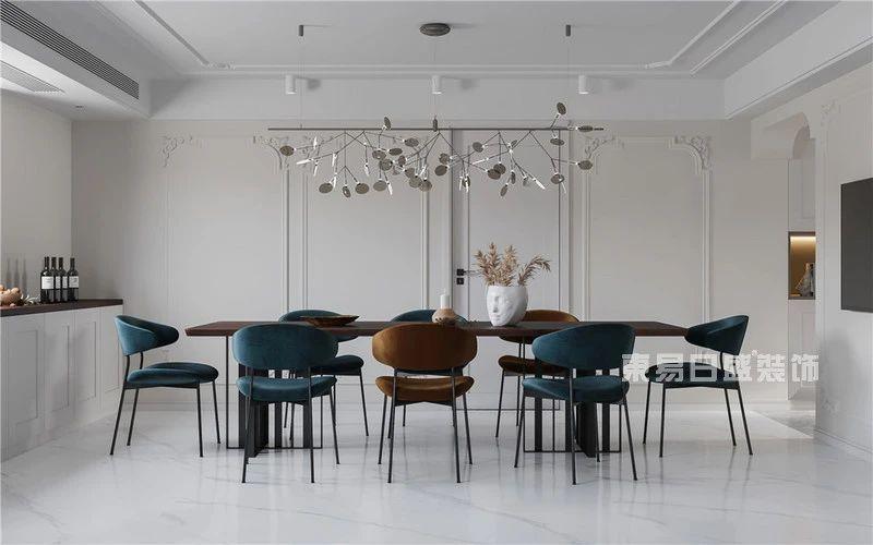现代法式混搭风格餐厅