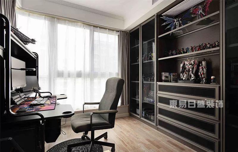 现代风格案例书房