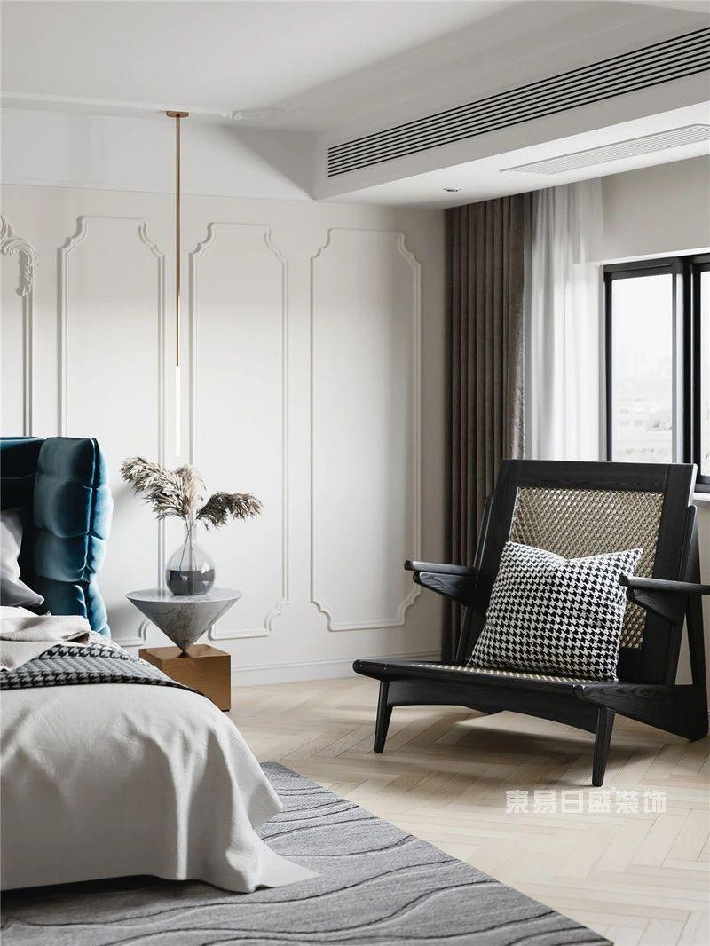 现代法式风格卧室
