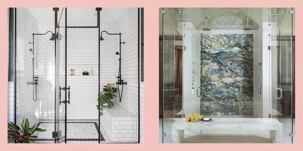 步入式淋浴间设计