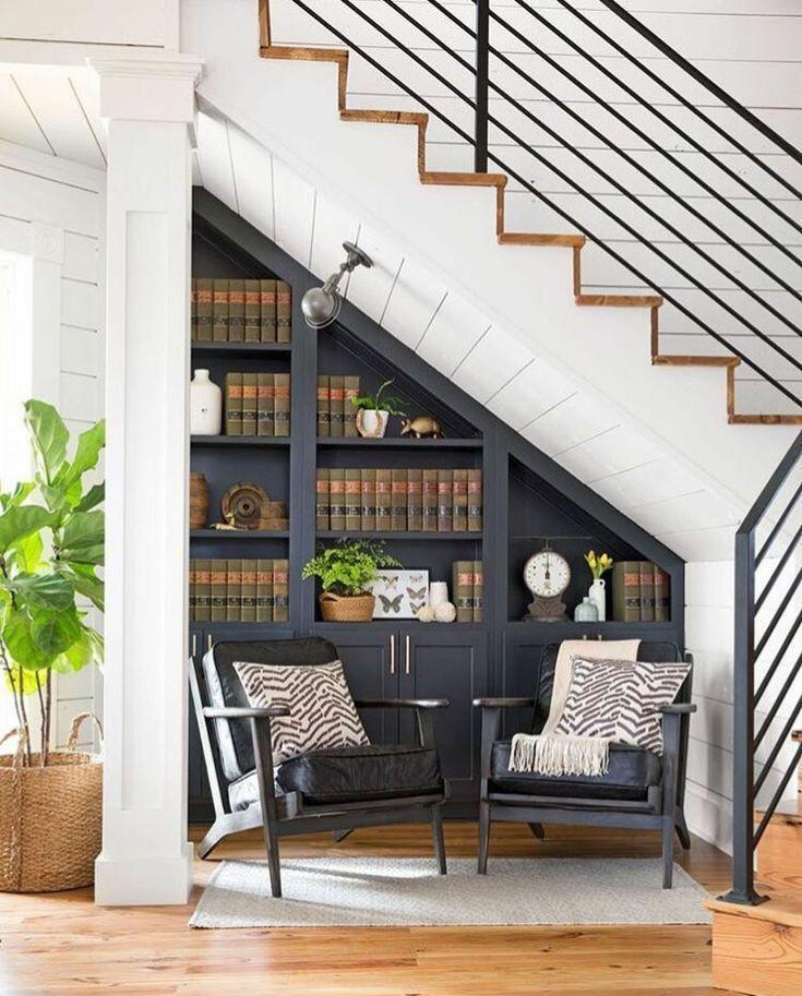 楼梯小书房