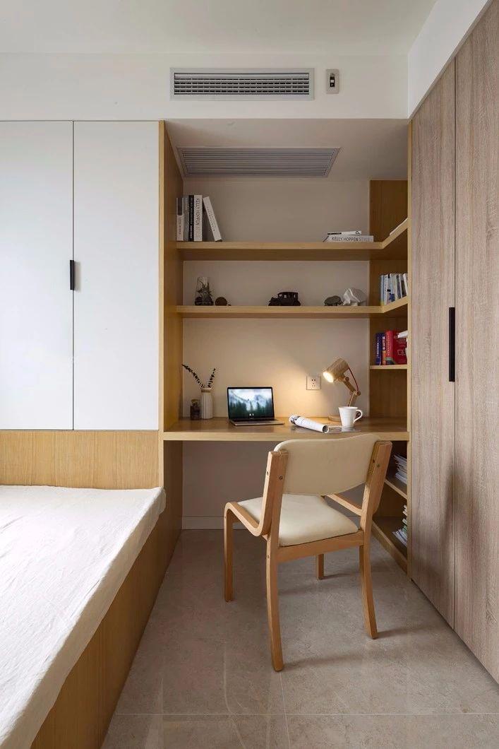 桂林床和书桌组合图片
