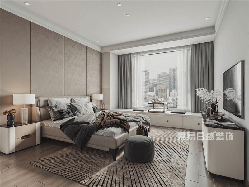现代简约风格次卧室