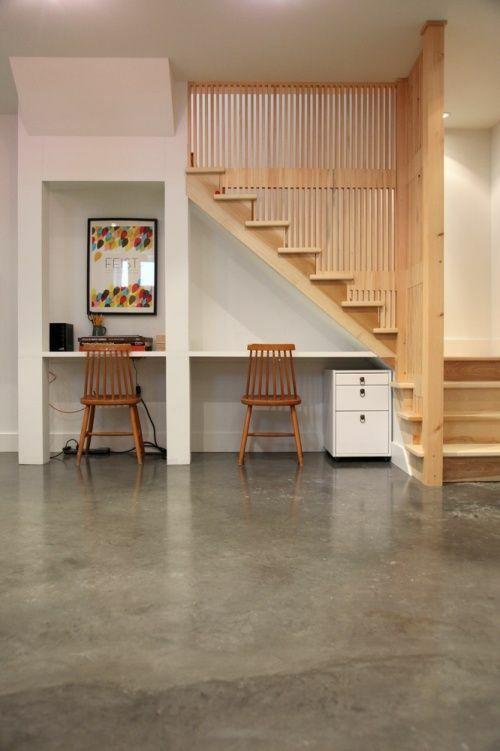 楼梯小型办公室
