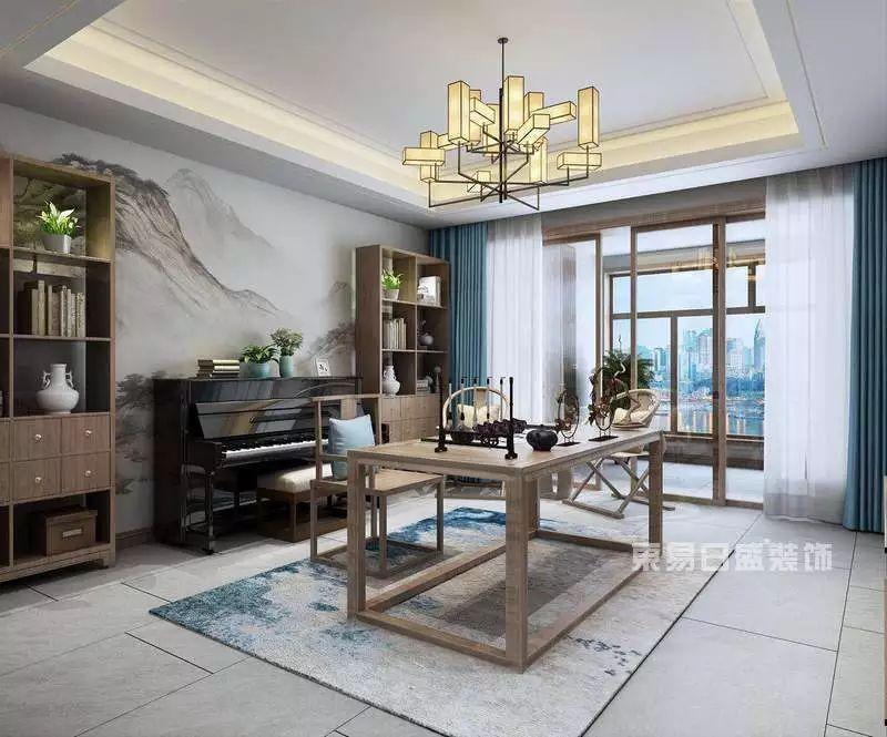 新中式风格茶室
