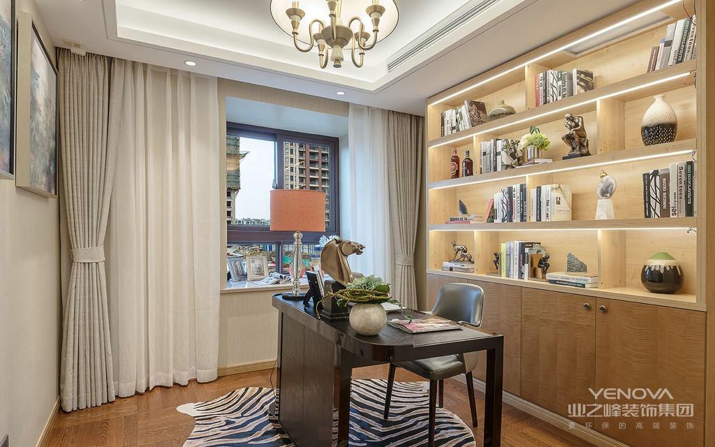 如何去布局和设计呢?书房装修设计技巧