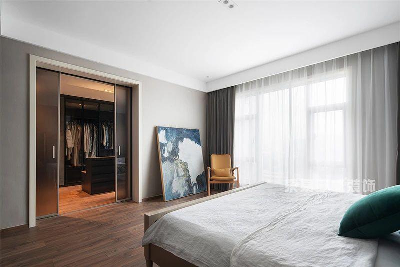 现代自然风主卧室