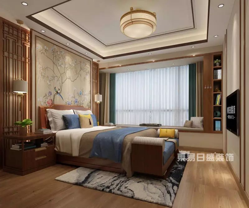 新中式次卧