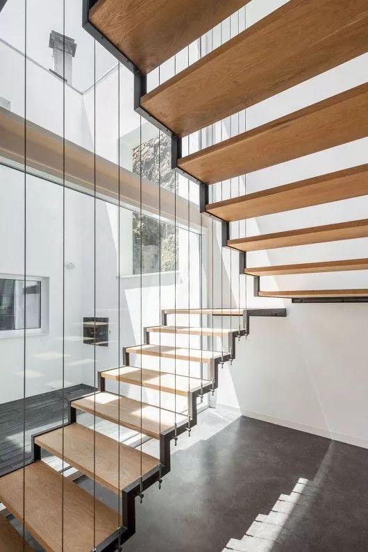 悬空台阶楼梯设计