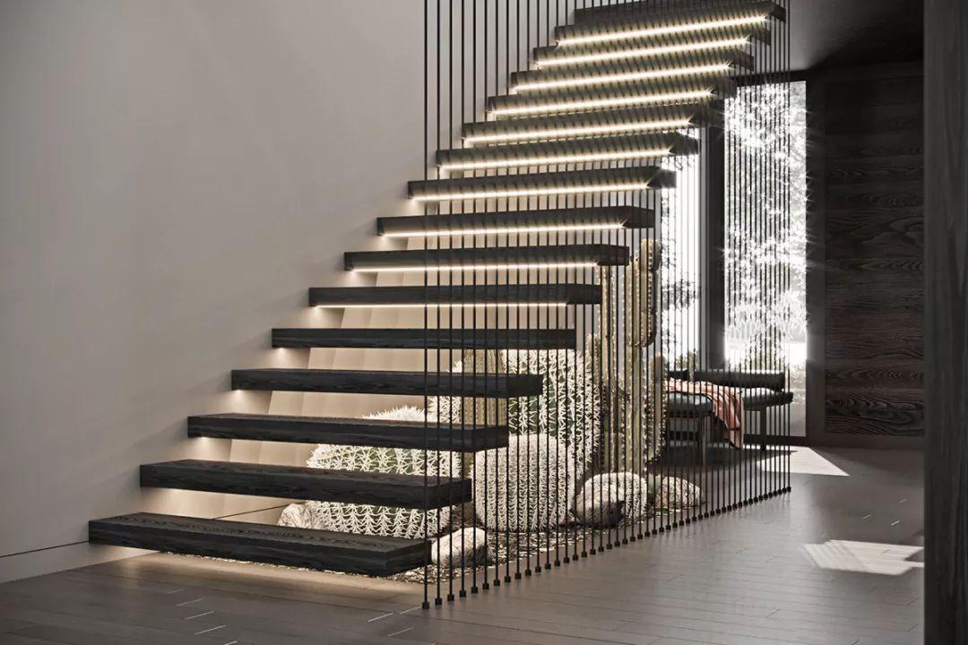 镂空台阶楼梯装饰