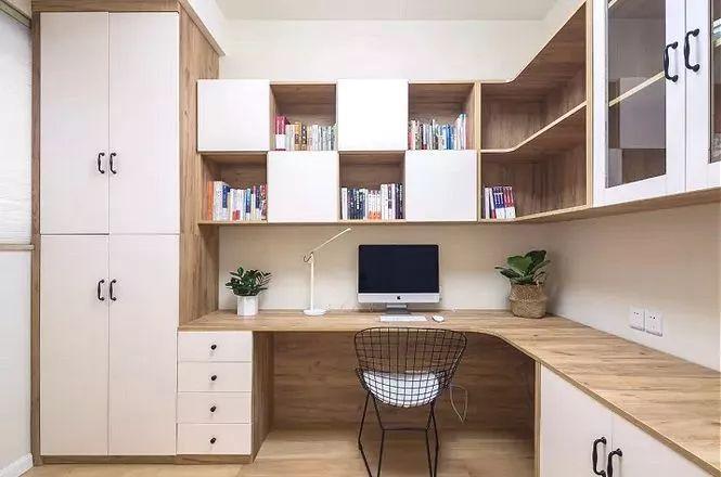 卧室L型桌台
