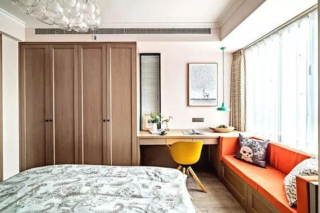 卧室休闲娱乐区