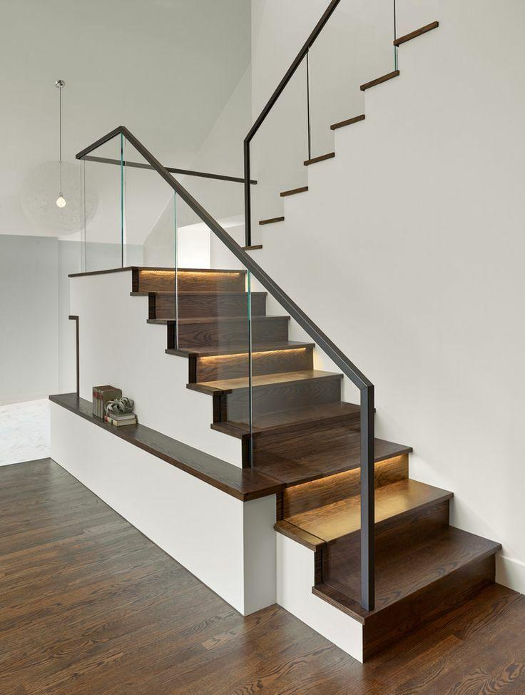 复式楼极简楼梯设计