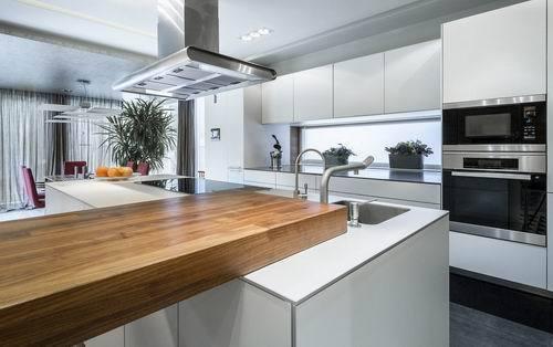 开放式厨房清洁方法