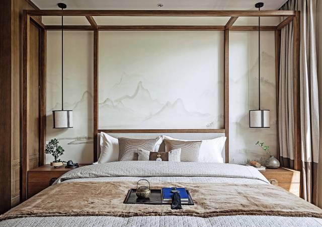新中式卧室案例