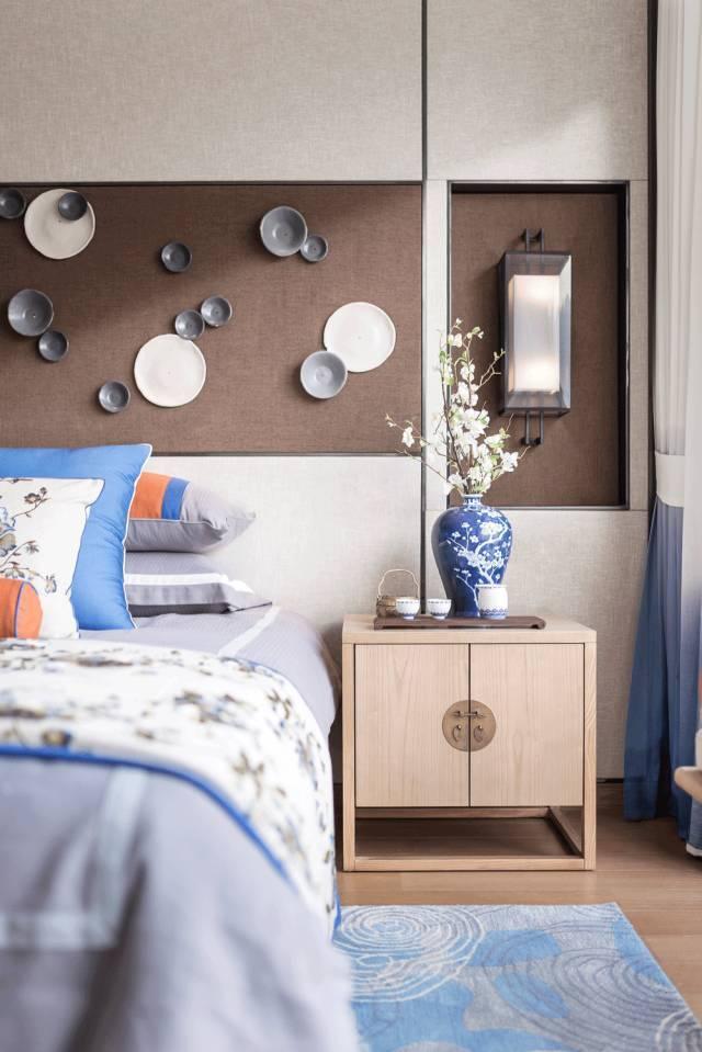 新中式卧室空间层次