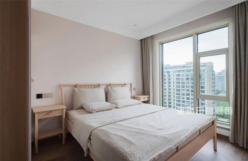 现代自然风客卧室