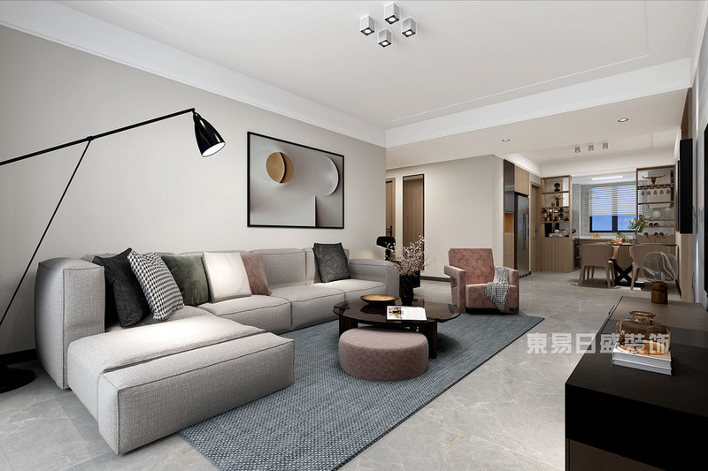 现代简约客厅用哪种颜色墙漆好