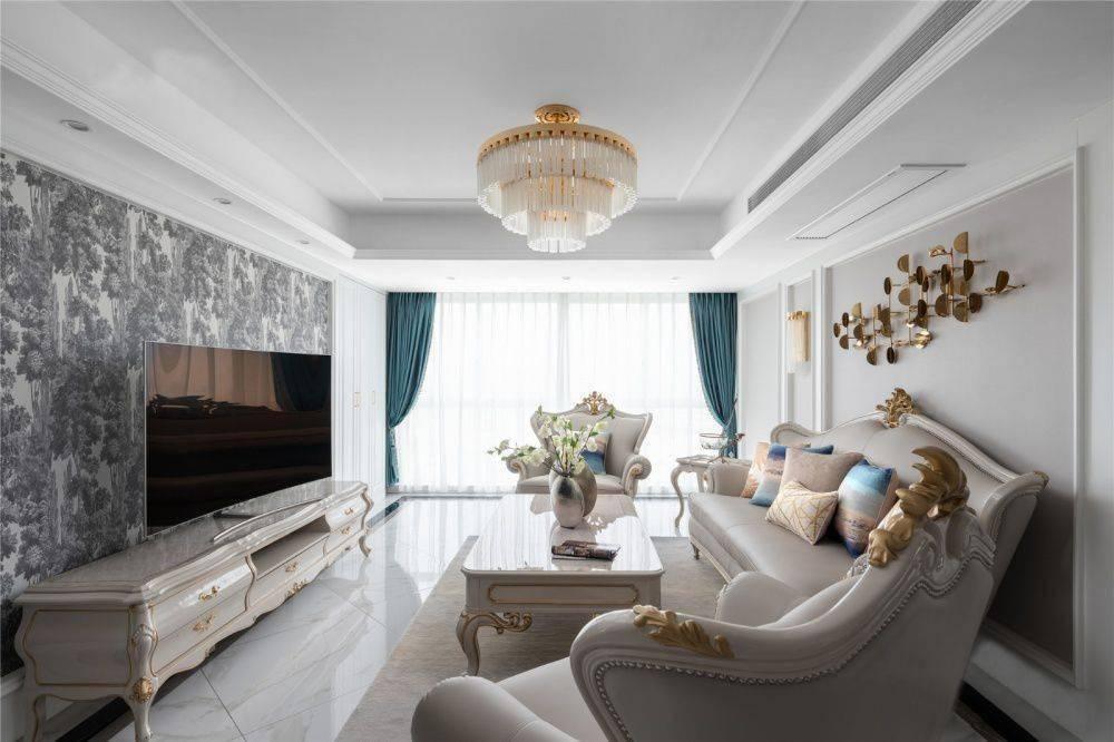 欧式装修风格客厅