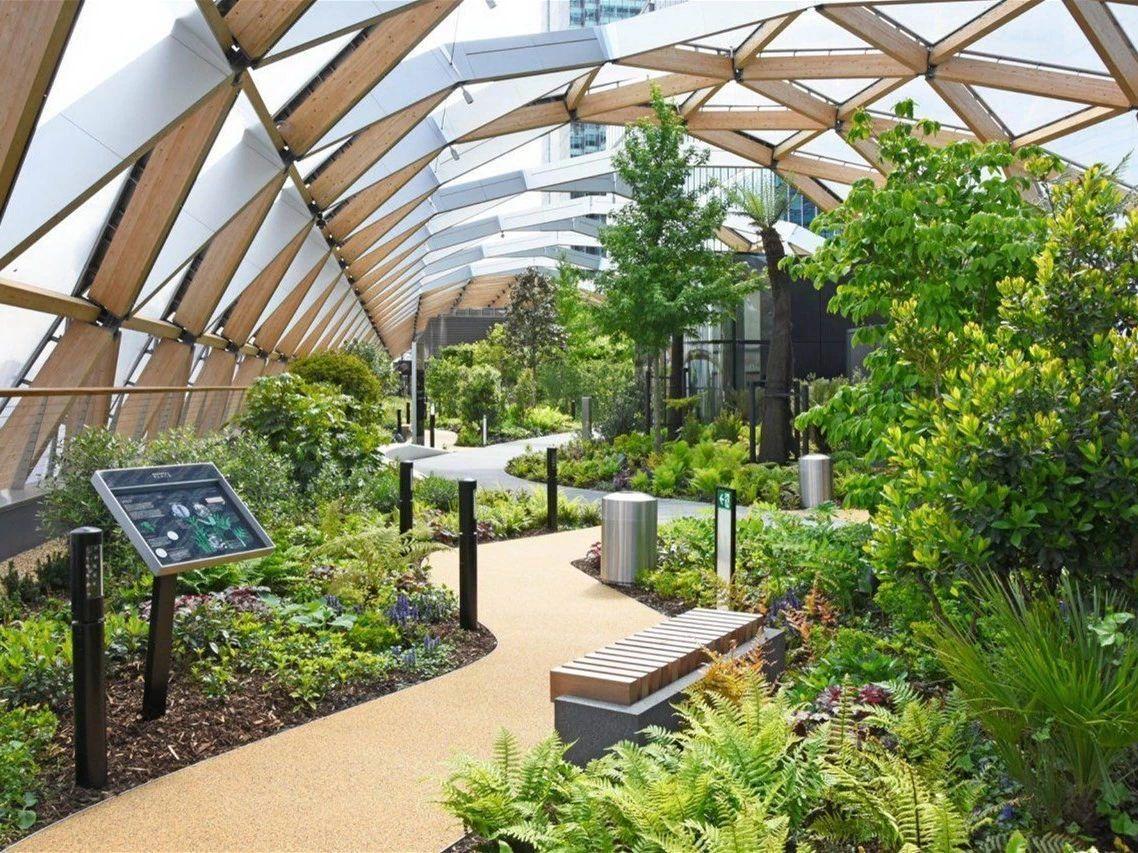 设计屋顶花园