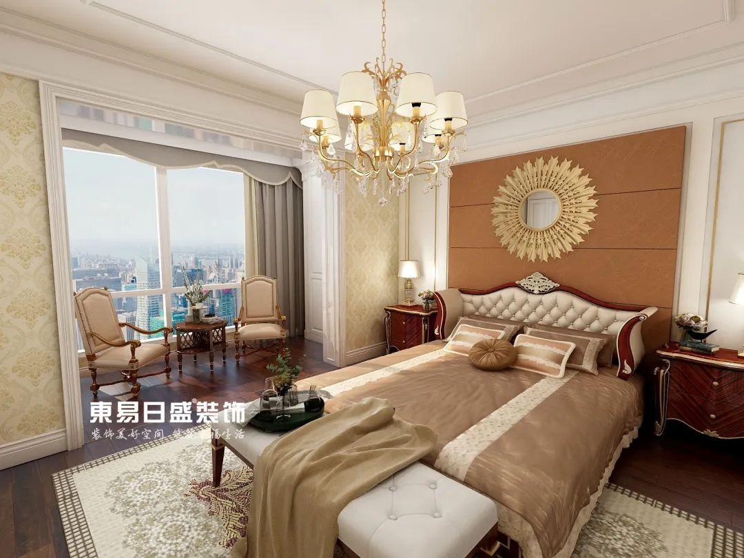 欧式风格实景图卧室
