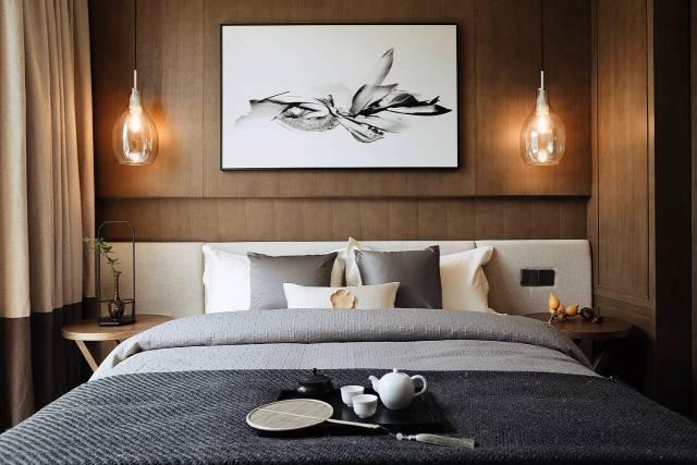 新中式元素卧室