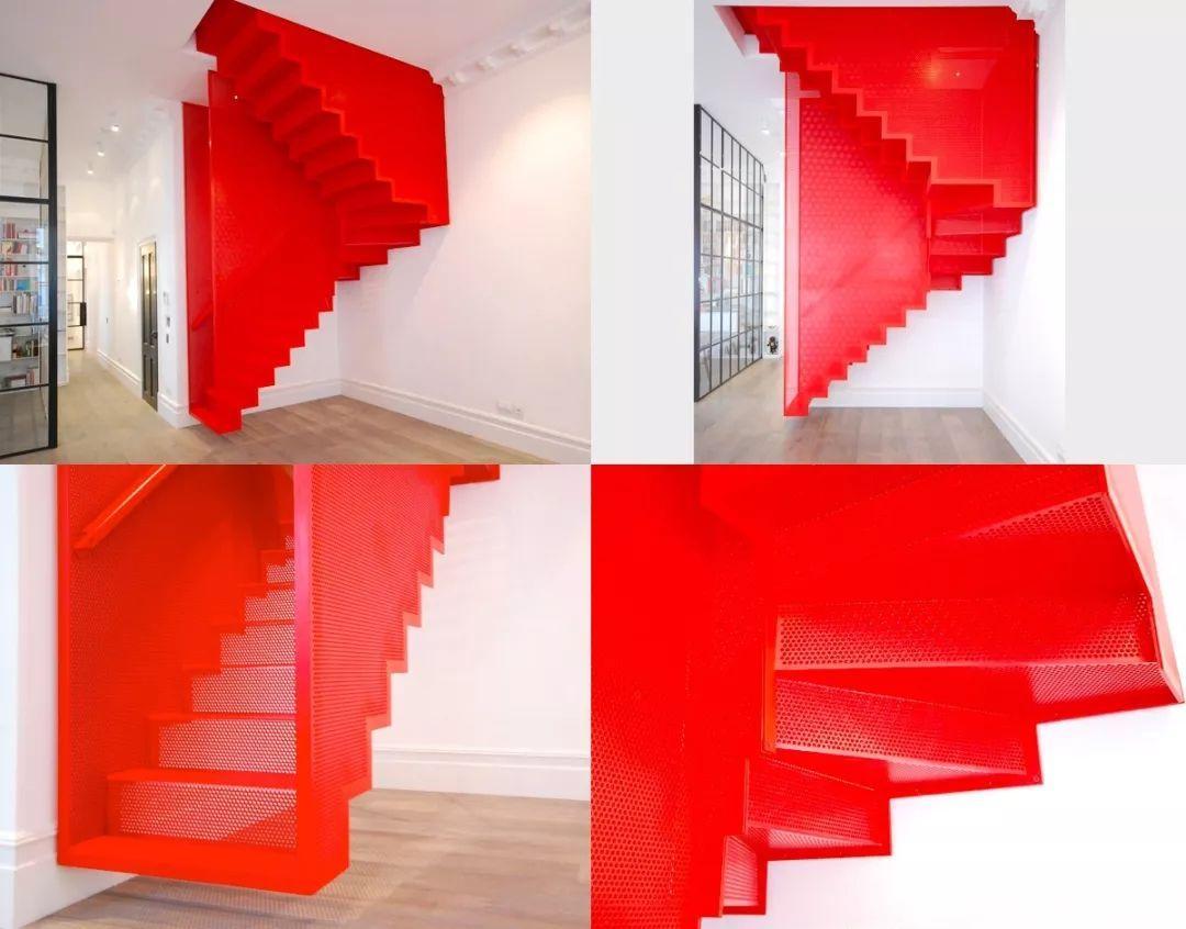 彩色楼梯案例