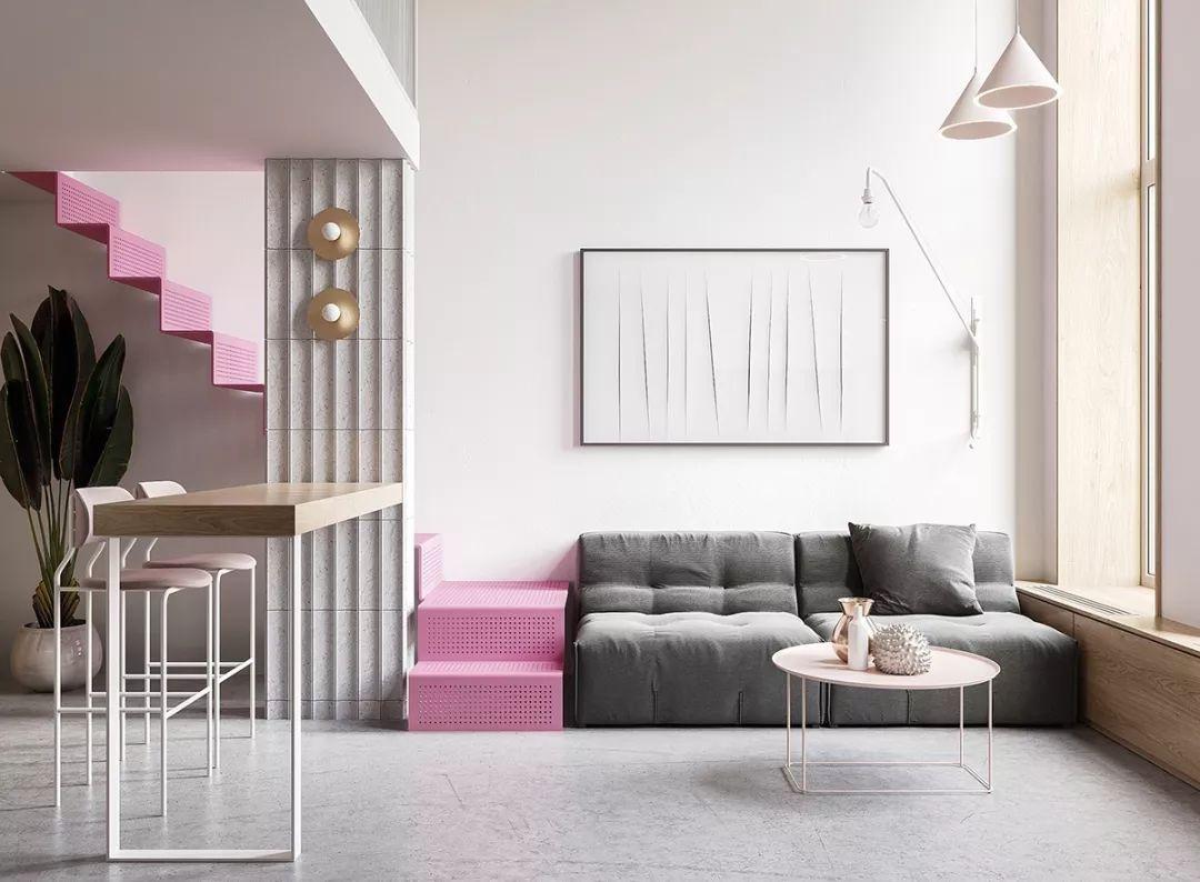 彩色楼梯设计