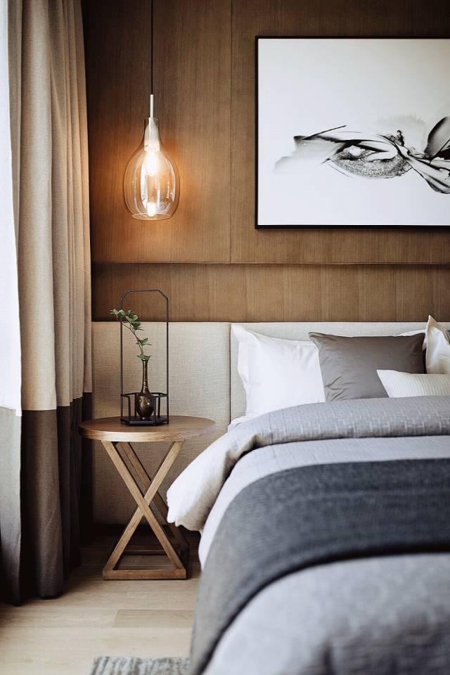 新中式卧室造型特点