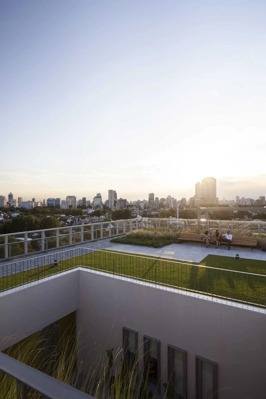 屋顶种植层厚度选择