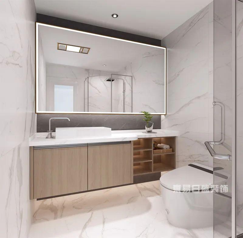 现代简约风格洗手间