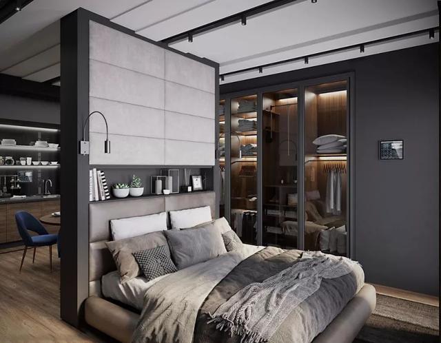 床头展示柜设置